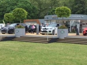 Land Rover Sponsorship - Stand