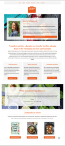 The Lunchbox Doctor new website creative.