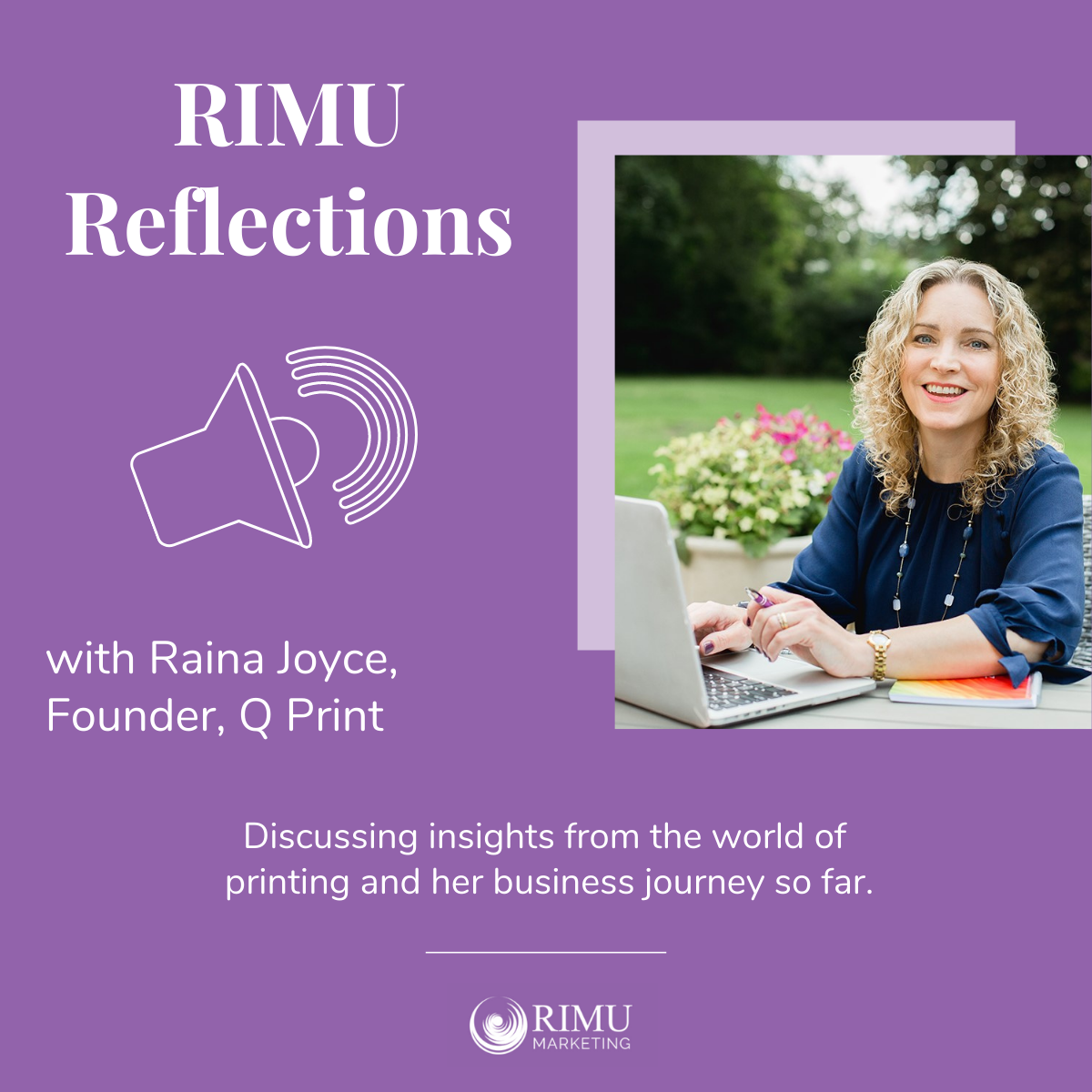RIMU Reflections - Raina Joyce